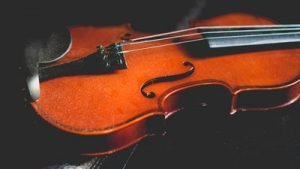 Musical instruments such as this violin will never come to harm if you hire a reliable long distance movers Tampa.