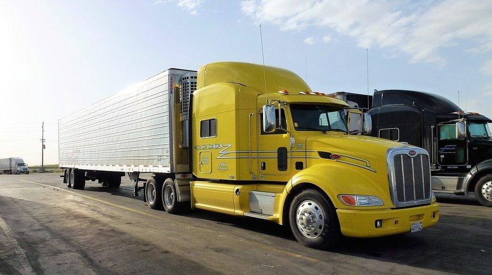 A long truck