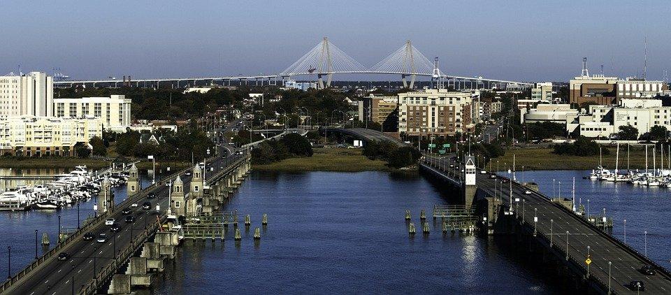 Panorama od Charleston SC
