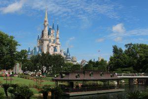Cinderella's castle in Orlando.