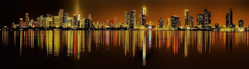 Miami landscape.
