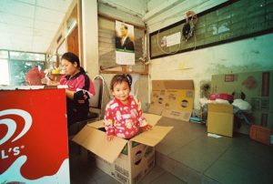 Child in the box