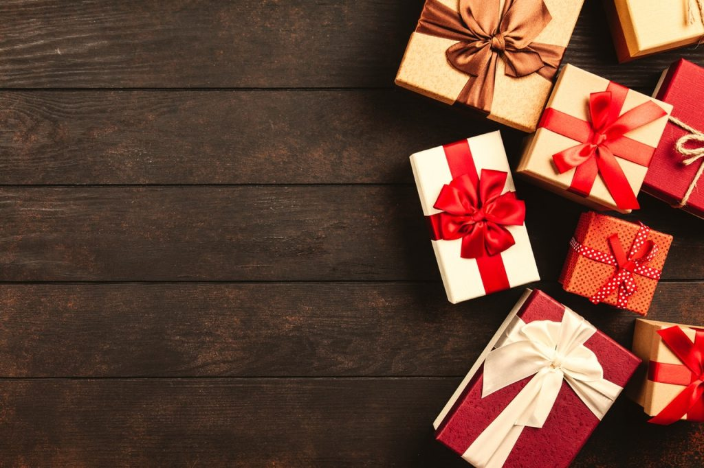 Use leftover boxes for packing birthday or holiday presents