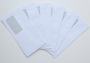 A flush of empty envelopes