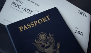 Passport and other personal documents are on the list of important moving documents
