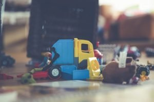 Toys - keep or throw away when you pack your kid's room