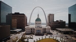 Interstate movers are moving you to St. Louis, where you can see beautiful architecture.