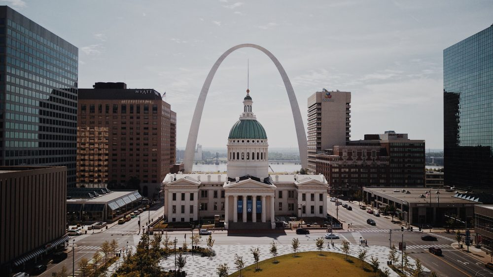 Amazing architecture of St. Louis.