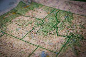 Idaho map guide