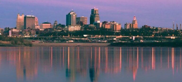 Skyline of Kansas City.