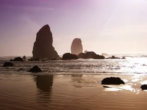 beach on Oregon