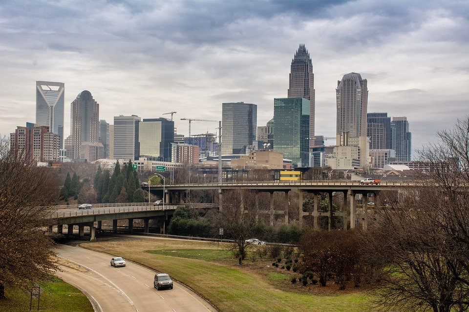 Charlotte, one of the most popular destinations for our interstate movers North Carolina.