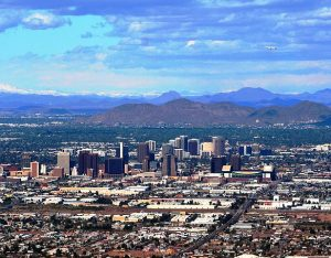 Phoenix has one of most famous skylines in the USA