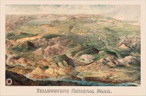 Yellowstone map.