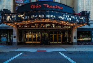 Ohio theater, a national landmark.