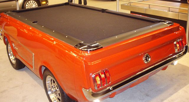 A pool table car - pool table moving made easy!