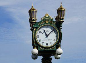 Clock in Seattle