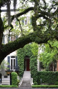 a beautiful house in Savannah