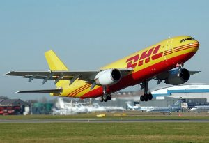 DHL airplane