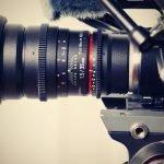 a filming camera