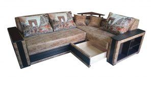 a folding sofa