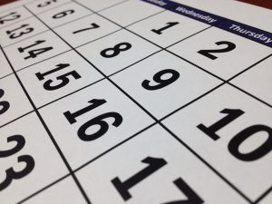 a calendar where you have to pick a moving date as one of the common obstacles when relocating employees