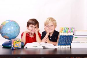kids happy with school at one of the best places to raise a family in Florida