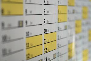 A calendar people use when they have to organize an affordable move to Atlanta