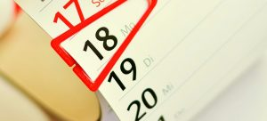 a date on a calendar you will use when Moving from Arizona to Texas