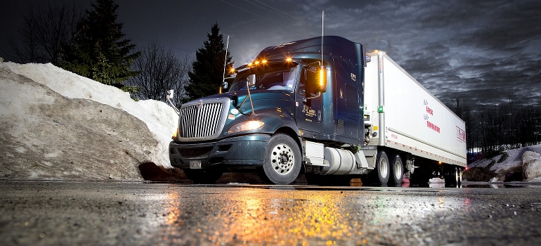 Interstate movers Anchorage and their truck
