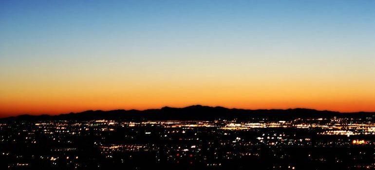 sunset in phoenix arizona