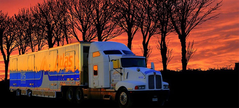 best cross country movers Gulfport and their truck