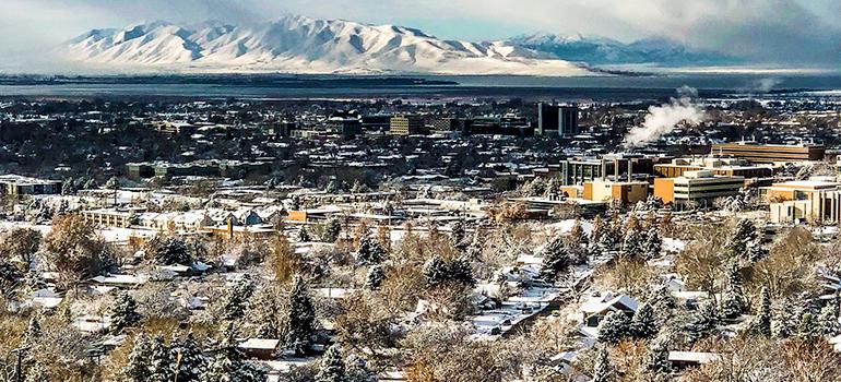 Provo Utah panorama
