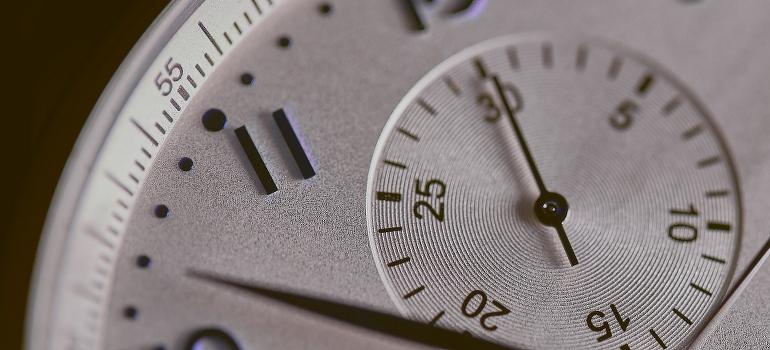 a watch closeup