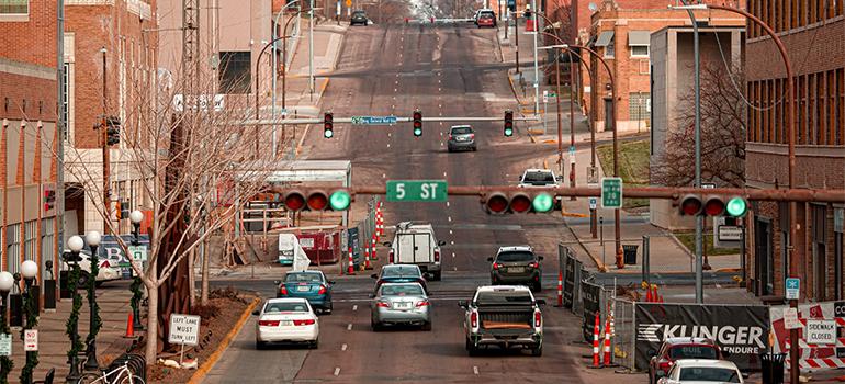 Sioux City street