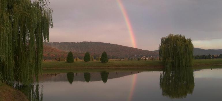 A rainbow in Huntsville