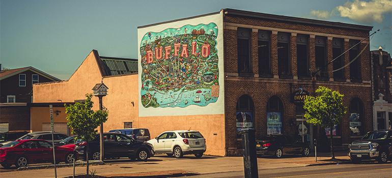 street in buffalo