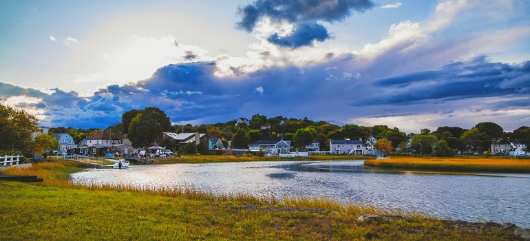 A field in Massachusetts