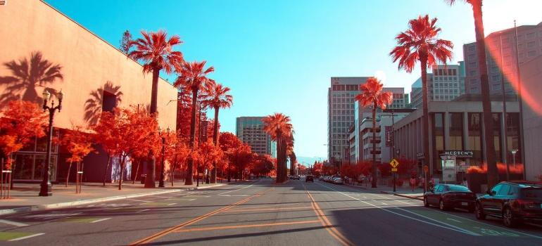A street in San Jose