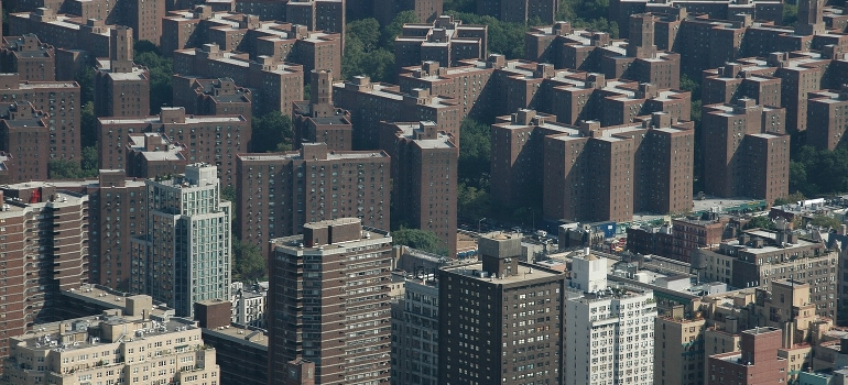 The Bronx areal view
