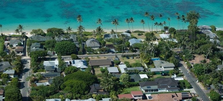 a beach in Kailua