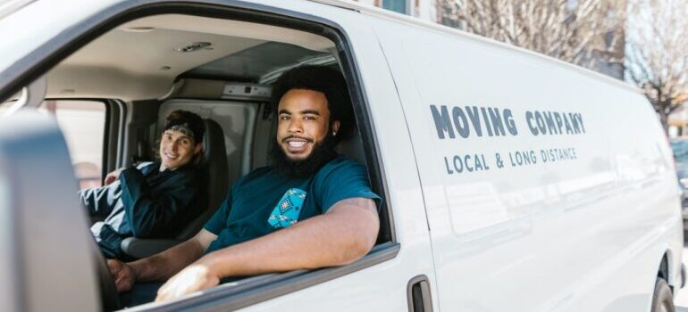 moving truck - best cross country movers Lake Charles