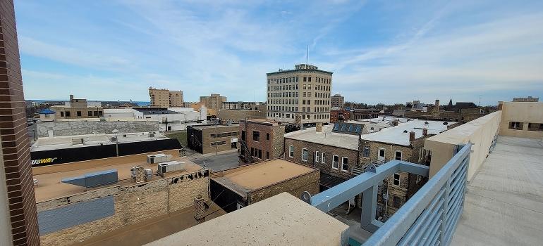 Kenosha rooftops