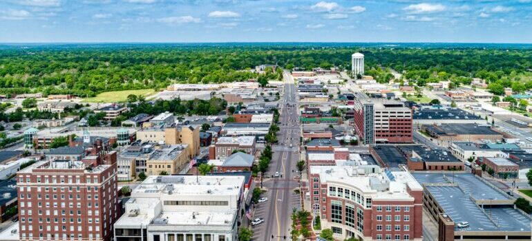A city in MO - best cross country Independence